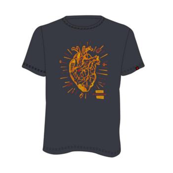 T-Shirt Direct Alpine Blitzlicht anthrazit (Herz)