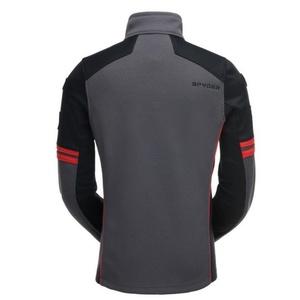 Sweater Spyder Men `s Wengen Full Zip Mid Wt Stryke Fleece 181372-069, Spyder