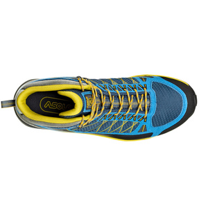Schuhe Asolo Grid Mid GV MM indisch teal/yellow/A898, Asolo