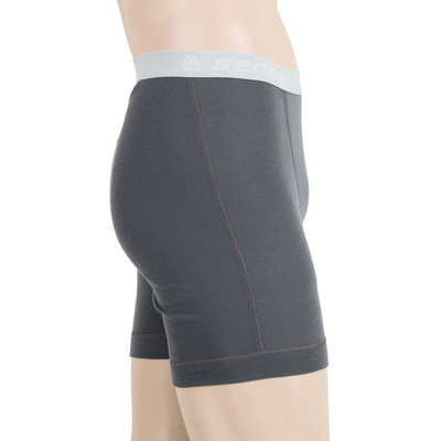 Herren shorts Sensor Double Face grey 16200049, Sensor