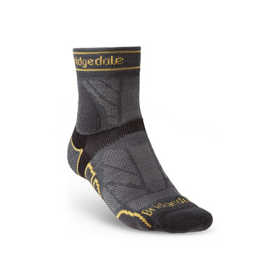 Socken Bridgedale TRAIL RUN LW T2 MS 3/4 CREW Gunmetal/866, bridgedale