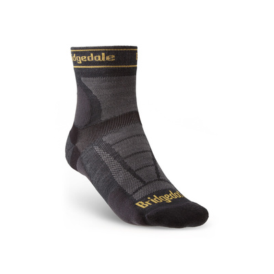 Socken Bridgedale TRAIL RUN UL T2 MS 3/4 CREW Gunmetal/866, bridgedale