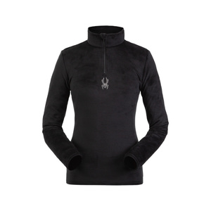 Rollkragen Spyder Women's Shimmer Bug Velour Fleece T-Neck 194091-001, Spyder