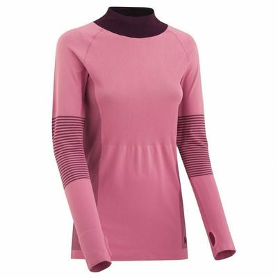 Damen Sport T-Shirt mit langen Ärmeln Kari Traa Takfia 622041, pink, Kari Traa