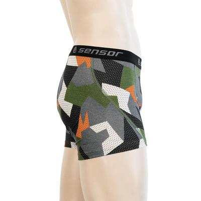 Herren shorts Sensor MERINO Beeindrucken safari / camo 19200023, Sensor