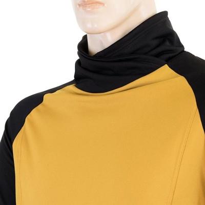 Herren Sweatshirt Sensor Coolmax Thermo senf / black 20200049, Sensor