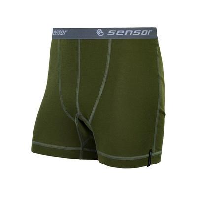 Herren shorts Sensor Double Face deep safari 20200040, Sensor