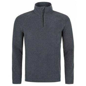 Männer Fleece-Sweatshirt Kilpi ALMERI-M grau, Kilpi