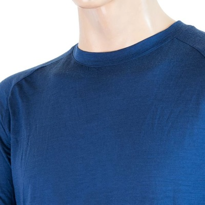 Herren T-Shirt Sensor Merino Air PT dunkelblau / burgund 20200002, Sensor