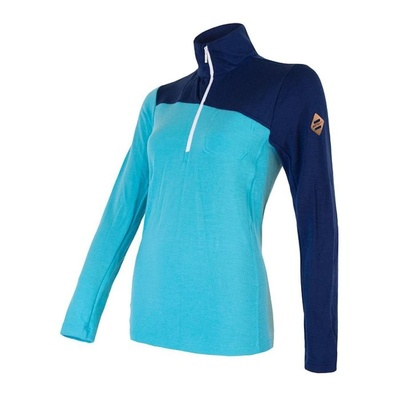 Damen T-Shirt Sensor Merino Extreme dunkelblau / blau, Sensor