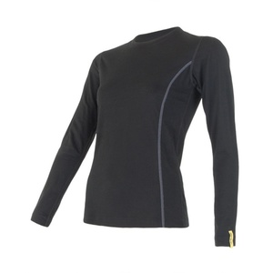 Damen T-Shirt Sensor Merino Wool Active black 11109024, Sensor