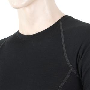 Herren T-Shirt Sensor Merino Wool Active black 11109033, Sensor