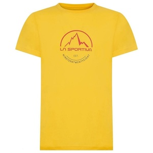 Herren T-Shirt La Sportiva Logo Tee yellow, La Sportiva