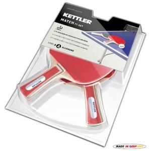 Set Tischtennisschläger  Tisch- Tennis Kettler Match 7090-500, Kettler