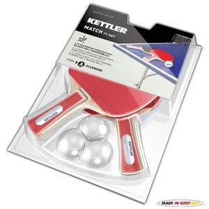 Set Tischtennisschläger  Tisch- Tennis Kettler Match 7091-500, Kettler