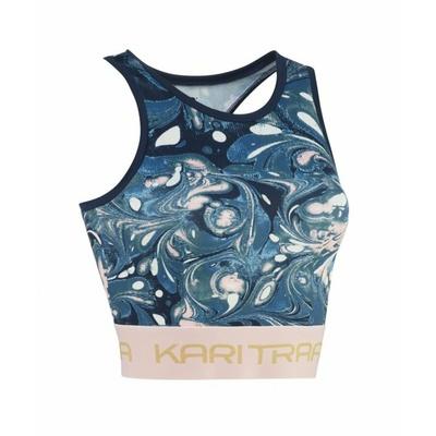 Damen Sport- Tank Top/Shirt Kari Traa Beatrice 622393 blue, Kari Traa