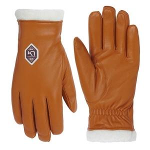 Damen Leder Handschuhe Kari Traa Himle Rust, Kari Traa