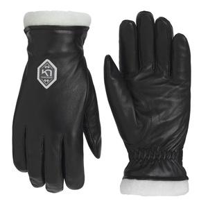 Damen Leder Handschuhe Kari Traa Himle Black, Kari Traa