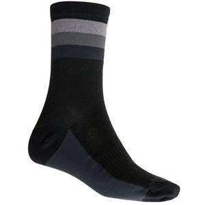Socken Sensor COOLMAX SUMMER STRIPE schwarz/grau 20100038