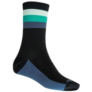 Socken Sensor COOLMAX SUMMER STRIPE schwarz/grün 20100040
