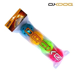 Set Floorball Bälle Oxdog Rotor Ball Color Tube, Oxdog