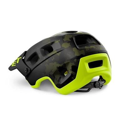 Helm MET Terra Nova Camo limette / grün, Met