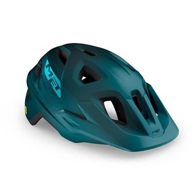 Helm MET Echo mips Petrol blue, Met