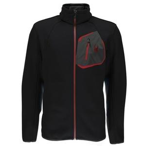 Sweater Spyder Men `s Paramount Mid WT Stryke Full Zip 417029-001, Spyder