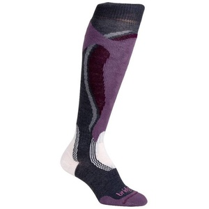 Socken Bridgedale Control Fit Midweight Women´s 871 gunmetal/plum, bridgedale
