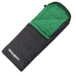Schlaf Sack Decke Husky Gala +5°C grau / grün, Husky