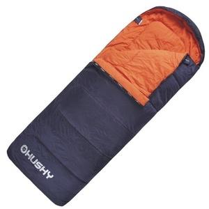 Schlaf Sack Decke Husky Gizmo -5°C grau/orange, Husky