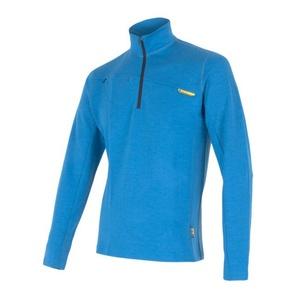 Herren Sweatshirt Sensor Merino Wool Obere blue 12110043, Sensor