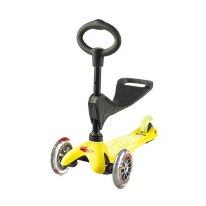 Scooter Mini micro Deluxe 3v1 Yellow, Micro