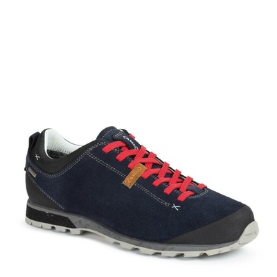 Herren Schuhe AKU Bellamont Suede GTX d.. blau rot, AKU