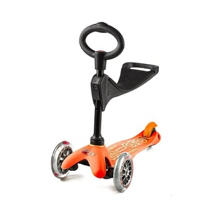 Scooter Mini Micro Deluxe 3v1 Orange, Micro