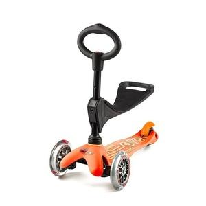 Scooter Mini Micro Deluxe 3v1 Orange, Micro