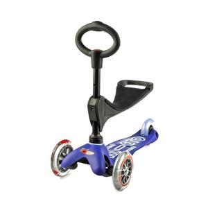 Scooter Mini Micro Deluxe 3v1 Blue, Micro