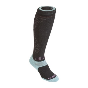Socken Bridgedale All Mountain Women´s 842 black/jade, bridgedale