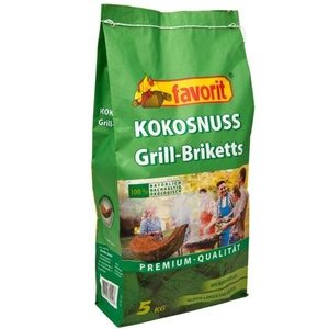 Grill- Briketts kokosnuss FAVORIT 5 Kg 5550AL