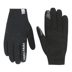 Damen Handschuhe Kari Traa Eva Black/Dark Grey, Kari Traa