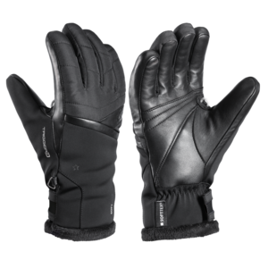 Ski Handschuhe LEKI Schneefuchs 3D Lady black, Leki