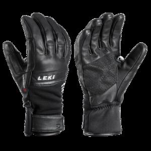 Ski Handschuhe LEKI Lightning 3D black, Leki
