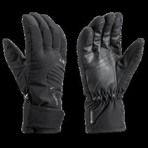 Ski Handschuhe LEKI Spox GTX black, Leki