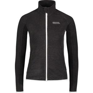 Damen leicht Fleece Sweatshirt NORDBLANC Savory NBSFL6628_GRM, Nordblanc