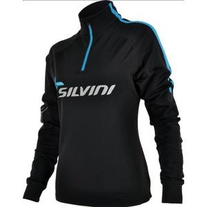 Damen Thermo Sweatshirt Silvini Crocetta WJ420 schwarz/blau, Silvini
