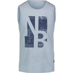 Herren baumwolle Tank Top/Shirt NORDBLANC Border NBSMT6818_MRS, Nordblanc