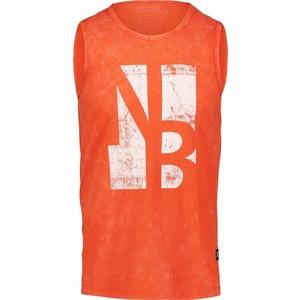 Herren baumwolle Tank Top/Shirt NORDBLANC Border NBSMT6818_ZRC, Nordblanc