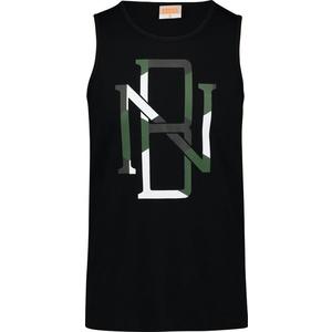 Herren baumwolle Tank Top/Shirt NORDBLANC Rim NBSMT6819_CRN, Nordblanc