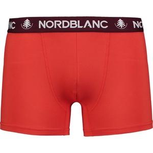Herren baumwolle Boxershorts Nordblanc Depth red NBSPM6865_CVN, Nordblanc