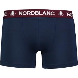 Herren baumwolle Boxershorts Nordblanc Depth blue NBSPM6865_TEM, Nordblanc